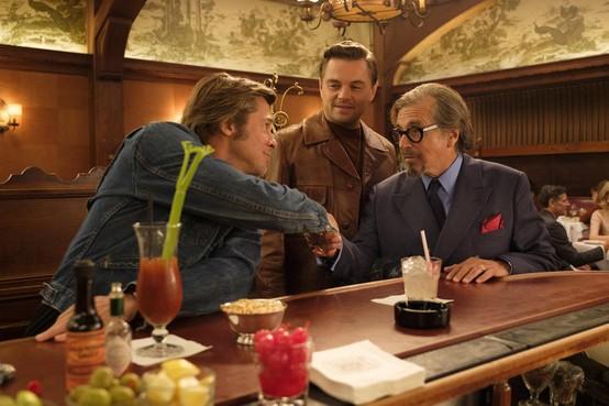Interview Brad Pitt en Leonardo DiCaprio:'Tarantino gelooft niet in special effects'.