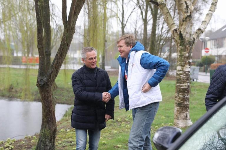 Pakketbezorger aangehouden bij Koningsbezoek in Soest