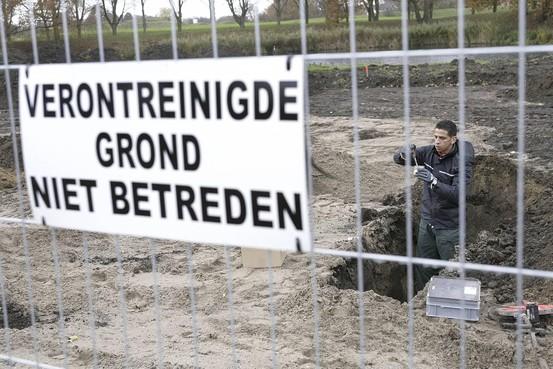 Vervuilde grond Schiphol naar Aalsmeerderbrug