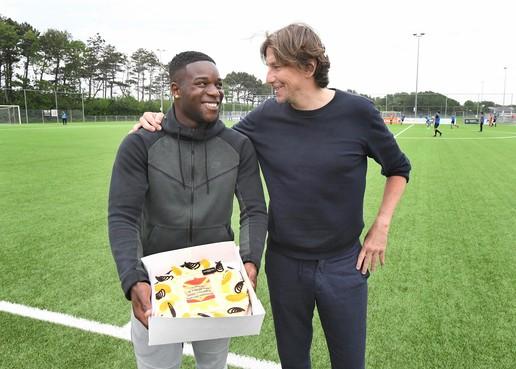 Jermaine Bregita is Noordkop-topscorer in belang van zijn team bij Fc Den Helder