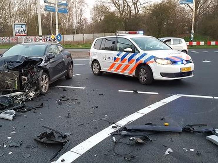 Ravage en gewonde bij ongeval Schagerweg Alkmaar