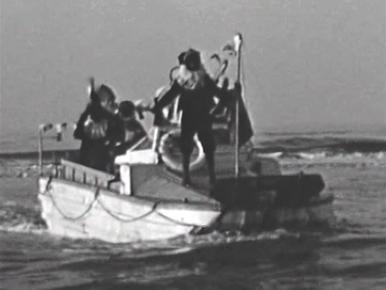 Bewegend Verleden: De landing van Sinterklaas in Zandvoort, 1949 [video]