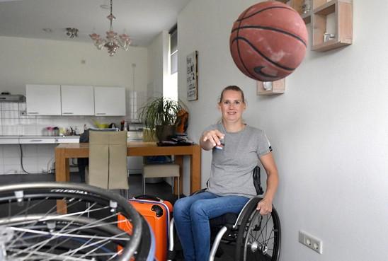 Julianadorpse Saskia Pronk is terug in Oranje en kijkt uit naar EK rolstoelbasketbal te Rotterdam