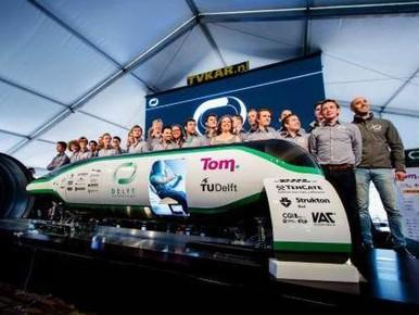 Hoofdprijs TU Delft in hyperlooprace