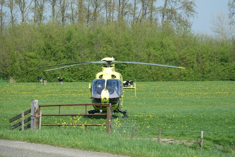 Motorrijder gewond bij harde val op A9 bij Heiloo