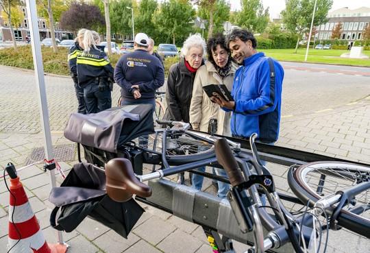 Graveeractie, aantal fietsendiefstallen stijgt