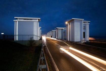 Afsluitdijk gaat meerdere nachten dicht voor veiligheidstests