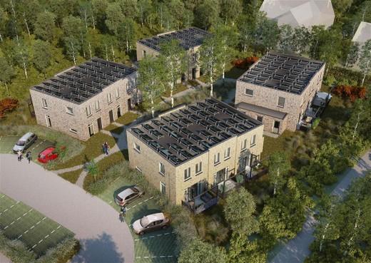 Kennemer Wonen bouwt twaalf sociale huurhuizen in duinen van Bergen aan Zee