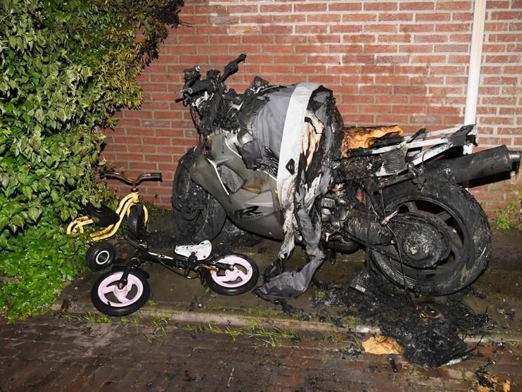 Drie keer brandstichting in Voorschoten en De Vink