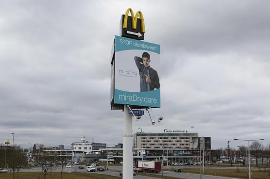 Reclamemast langs de A1 weer op agenda van gemeenteraad Baarn