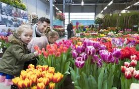 Buiten begint het voorjaar en ook bij de LenteFlora in Lisse hadden bezoekers de lente in hun bol.