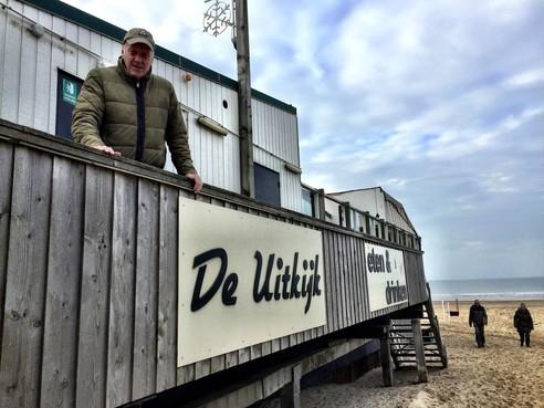 Strandpaviljoen De Uitkijk in Egmond aan Zee verhuist straks op rollers