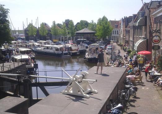 Kolksluis Spaarndam gaat dicht vanwege droogte