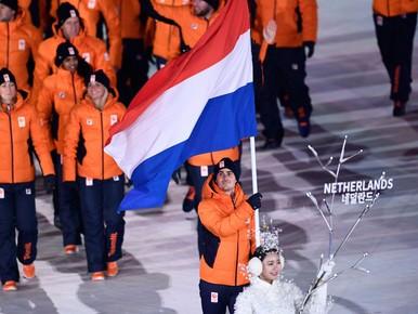 Nederlandse ploeg voorgesteld aan publiek Olympische Spelen
