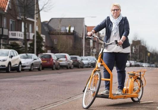 'Wandelen' op de fiets
