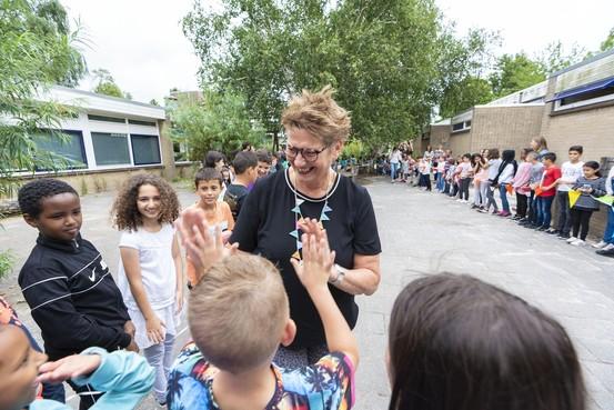 Juf Ingrid na veertig jaar Merenwijkschool: 'De kleuters ga ik missen, alles er omheen niet'