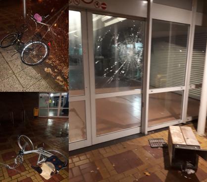 Drie jongeren aangehouden om vernielingen in Katwijk