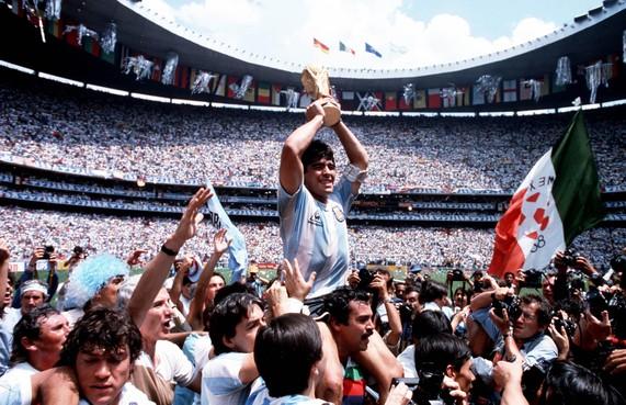 Filminterview met regisseur van 'Diego Maradona':'Het WK was een breekpunt voor Maradona'