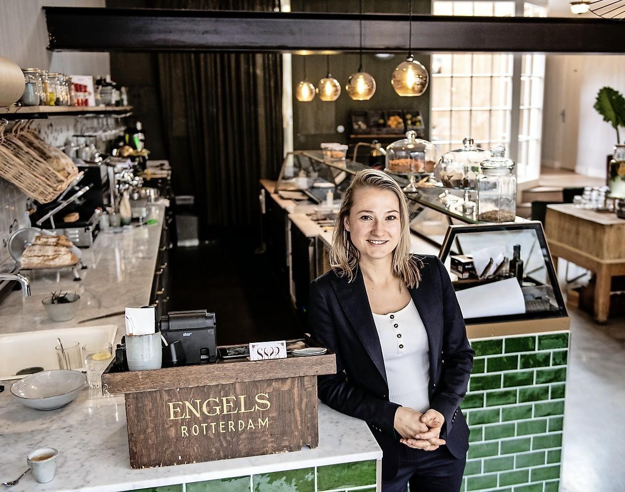 Saar wekt Wagenweg 3 in Haarlem weer tot leven met lunchroom - Noordhollands Dagblad