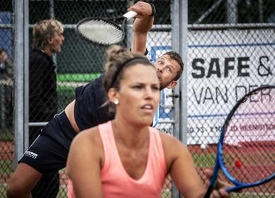 Winnaars Ruud Verhoeven en Chantal Verzijlberg van HBC Open: 'We hebben veel lol gehad'