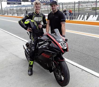 Tegenslag stapelde zich op bij talentvolle motorcoureur Guus Boes