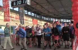 Startschot eerste wandeldag Vierdaagse Alkmaar
