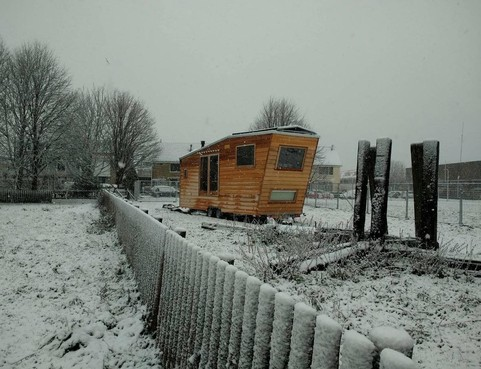 Lisse start met tiny houses