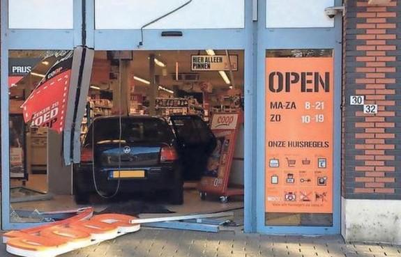 Amsterdammers opgepakt voor ramkraak op Coop in Wormerveer