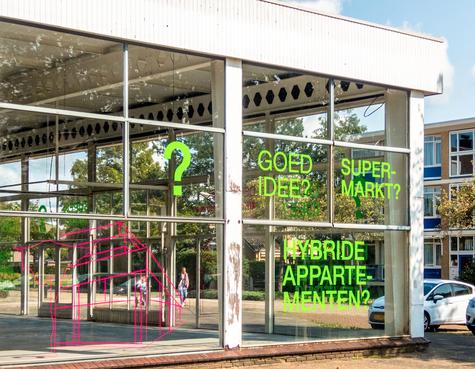 Wens: supermarkt op het Kooiplein in Castricum