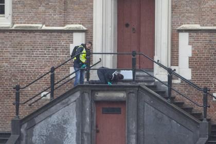 Dronkenmansactie: stadhuis van Haarlem gesloten en omgeving afgezet
