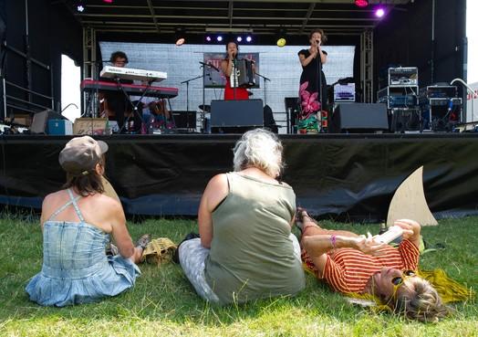 Streep door festival Summer Breek in Etersheim