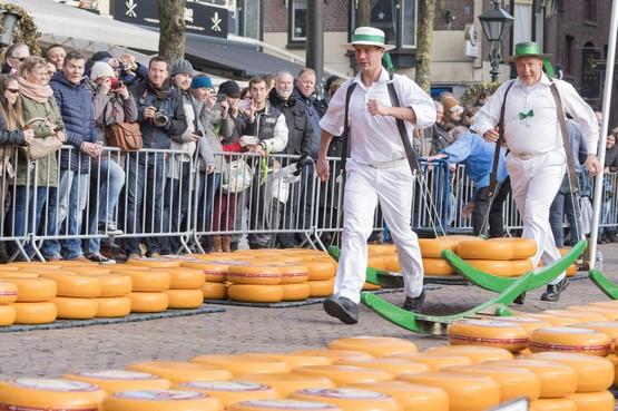 Choreografe aan de slag met ceremonie kaasmarkt Alkmaar