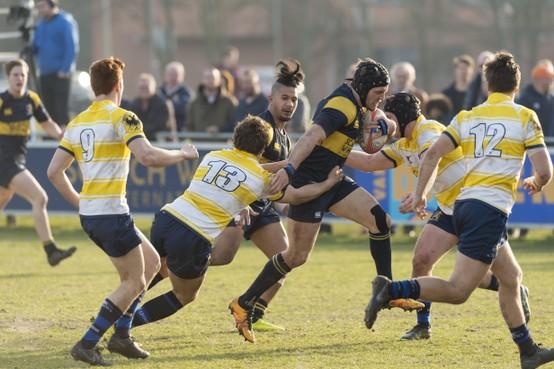Rugby: prolongatie landstitel verder uit zicht voor 't Gooi na verlies tegen concurrent DIOK