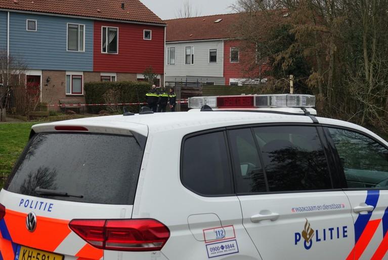Politiehelikopter zoekt naar woningovervallers in Purmerend