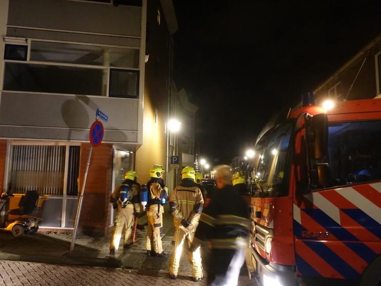 Bewoner opgepakt na brand in woning Wagenstraat in Den Helder [update]