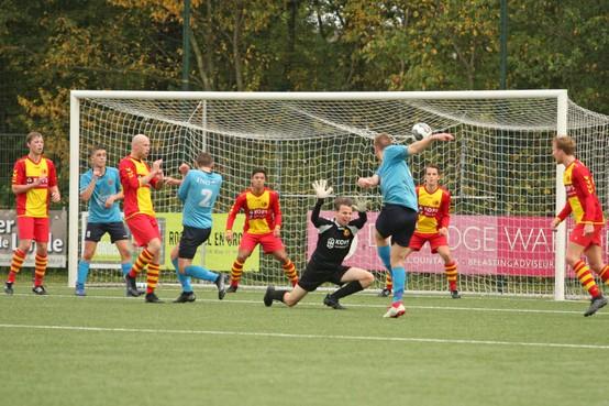 HSV komt goed weg met gelijkspel tegen FC Den Helder