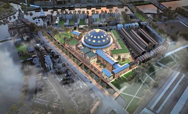 Panopticon moet 122.000 euro betalen aan architect voor ontwerp terrein de Koepel Haarlem