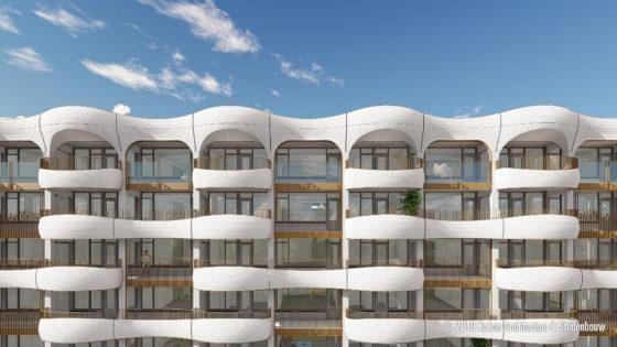In Den Helder komen de balkons uit de printer en daar is nu speciaal een fabriek voor gebouwd
