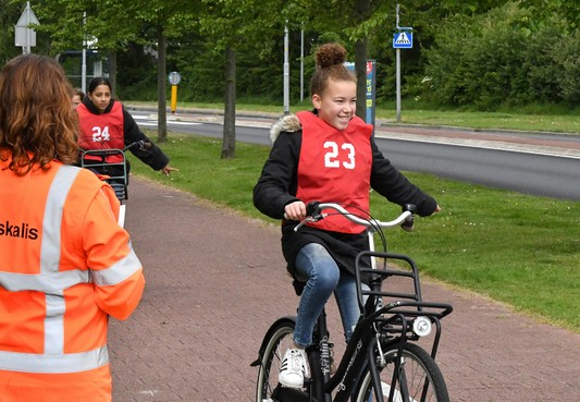 Bijna iedereen geslaagd voor verkeersexamen in Den Helder