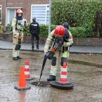 Maandag ging het ook al mis in Hilversum. Toen moesten in totaal dertig woningen worden ontruimd.
