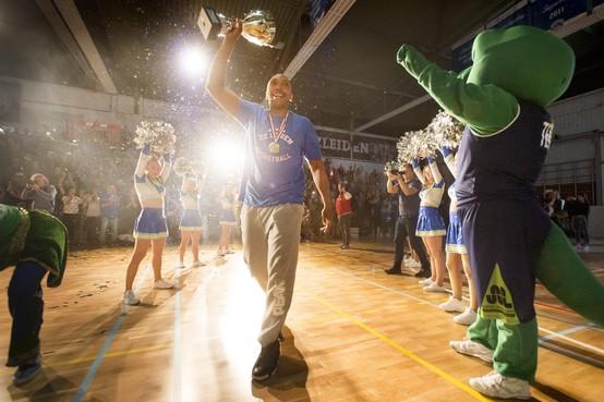 Sergio de Randamie is fysiek en mentaal klaar voor nieuw basketbalseizoen met ZZ Leiden