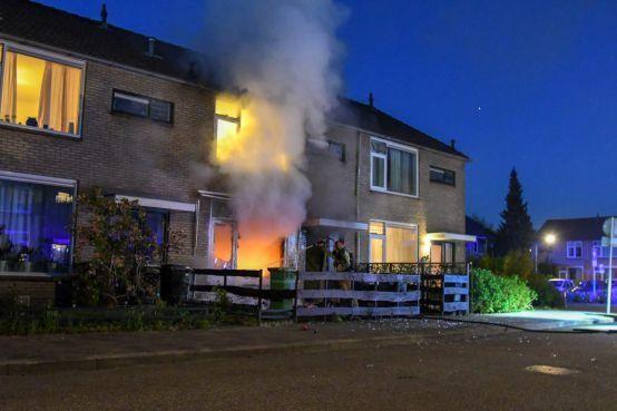 Hilversumse voorlopig vrij na brandstichting in woning Janseniushof, waarbij man zwaargewond raakte
