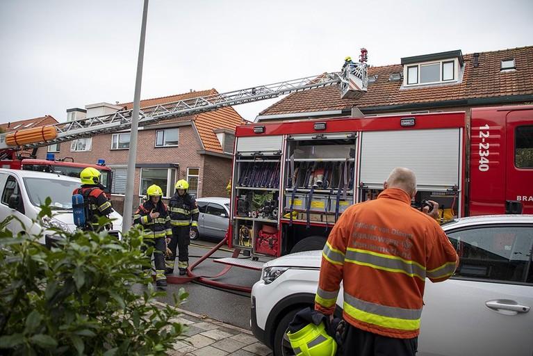 Buren ontdekken woningbrand in Beverwijk