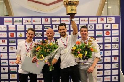 Team van Merlet in Schoorl sleept Gouden Koksmuts in de wacht