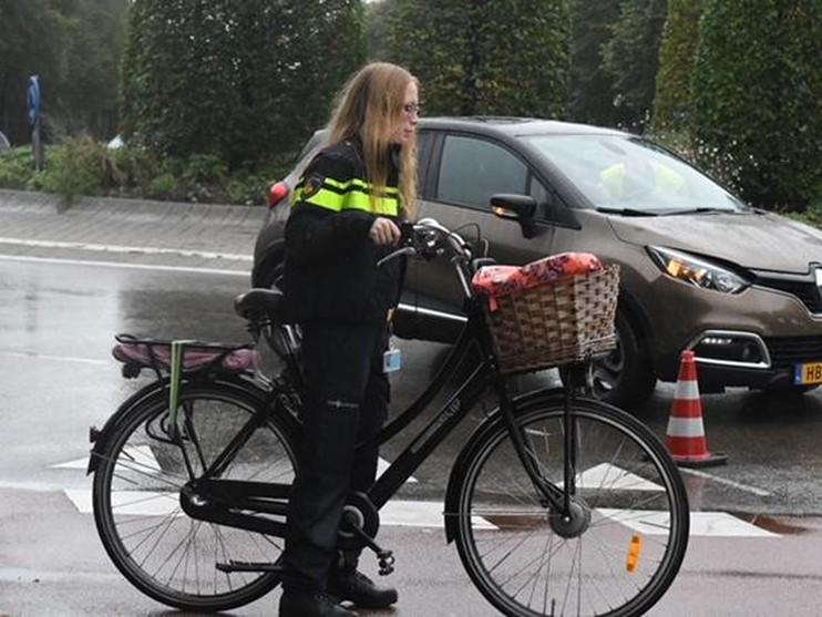 Meisje op fiets gewond bij ongeval in Oegstgeest