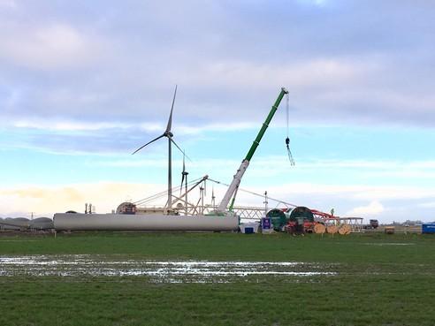 40 mille per jaar voor omwonenden windpark Westfrisia