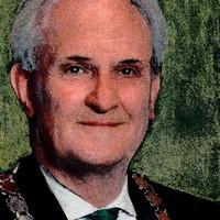 Burgemeester Pieter Broertjes van Hilversum.