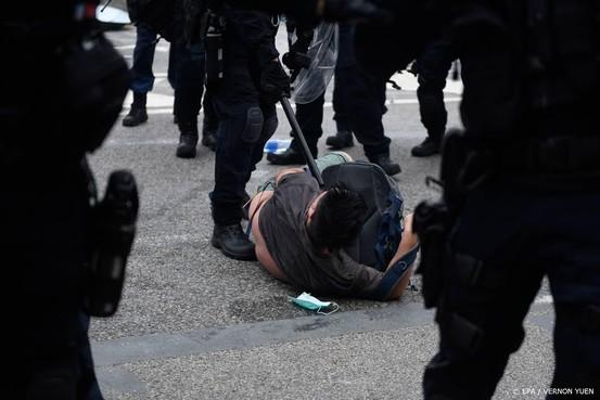 'Ruim zeventig gewonden bij protest Hongkong'