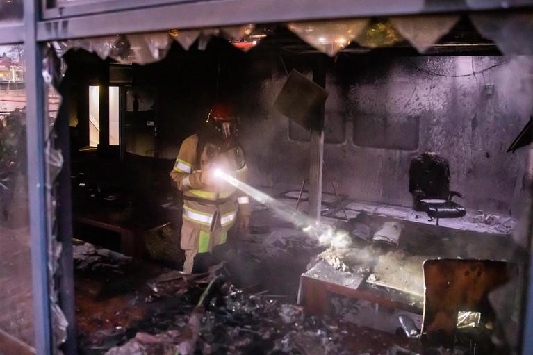 Politie is dader branden Hilversum nog niet op spoor