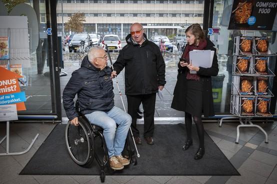 App geeft gehandicapten informatie over de toegankelijkheid van gebouwen in Velsen